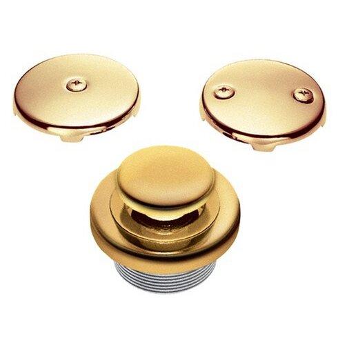 "Accessories 1.5"" Touch-Toe Tub Drain Conversion Unit"