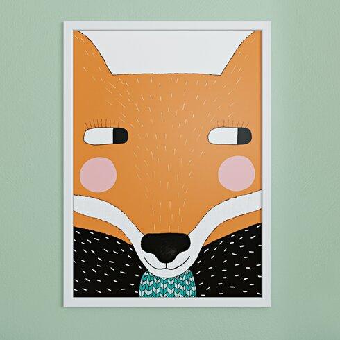 Big Fox Graphic Art