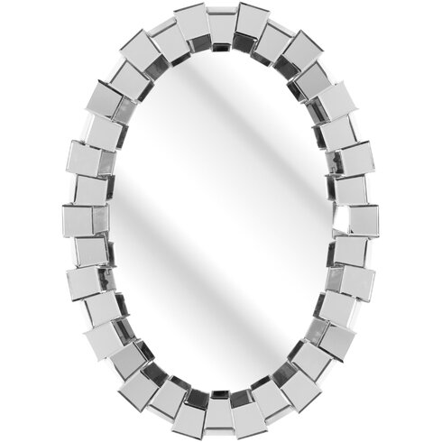 The Solitaire Oval Mirror