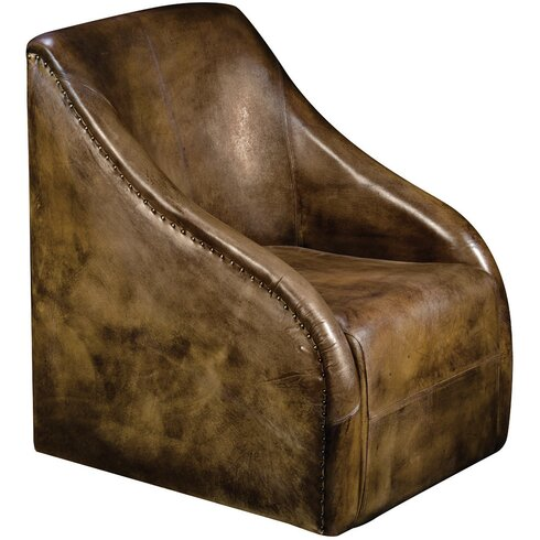 Crestone Leather Club Chair