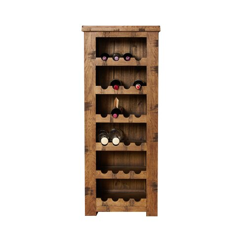 Heyford Rough Sawn Oak 24 Bottle Wine Rack