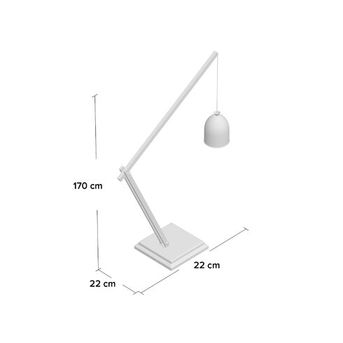Comsouth 170cm Reading Floor Lamp