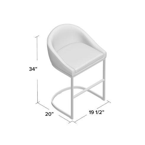 """26"""" Bar Stool with Cushion"""