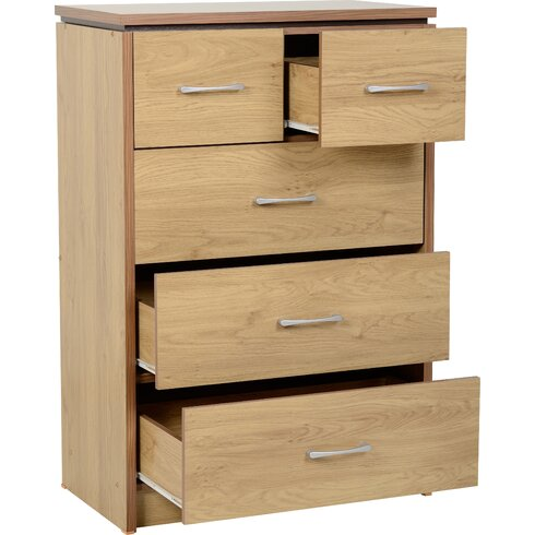Vivienne 5 Drawer Chest of Drawers