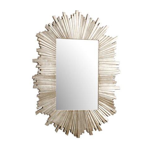 Argentia Sunburst Gold Metal Mirror