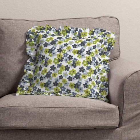 Polytric Flower Cushion Cover