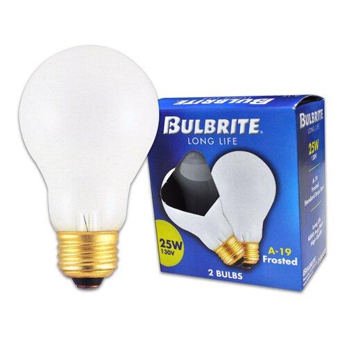 Frosted 130-Volt (2700K) Incandescent Light Bulb (Pack of 20)