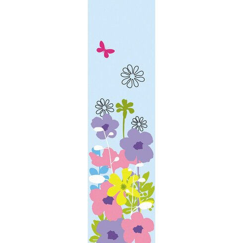 Nature Happy Flowers Wall Decal