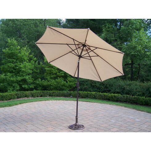 Mississippi Dining Set with Cushions and Umbrella