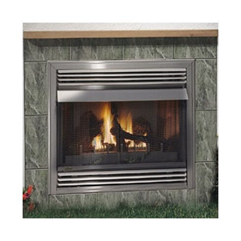 Outdoor Vent Free Wall Mount Gas Fireplace Insert