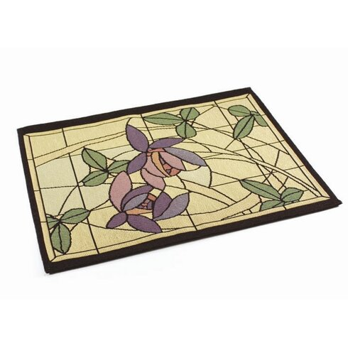 Arts and Crafts Flowers and Vines Placemat