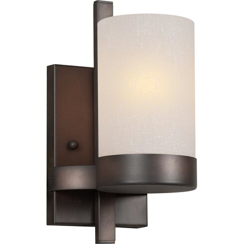 Wall Sconce With Bracket : Forte Lighting 1-Light Bracket Wall Sconce & Reviews Wayfair