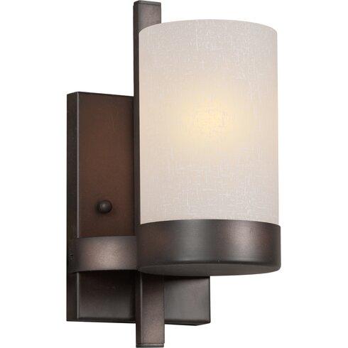 Forte Lighting 1-Light Bracket Wall Sconce & Reviews Wayfair