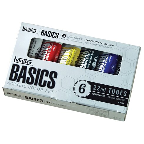 Basics Acrylic Paint Tube Set