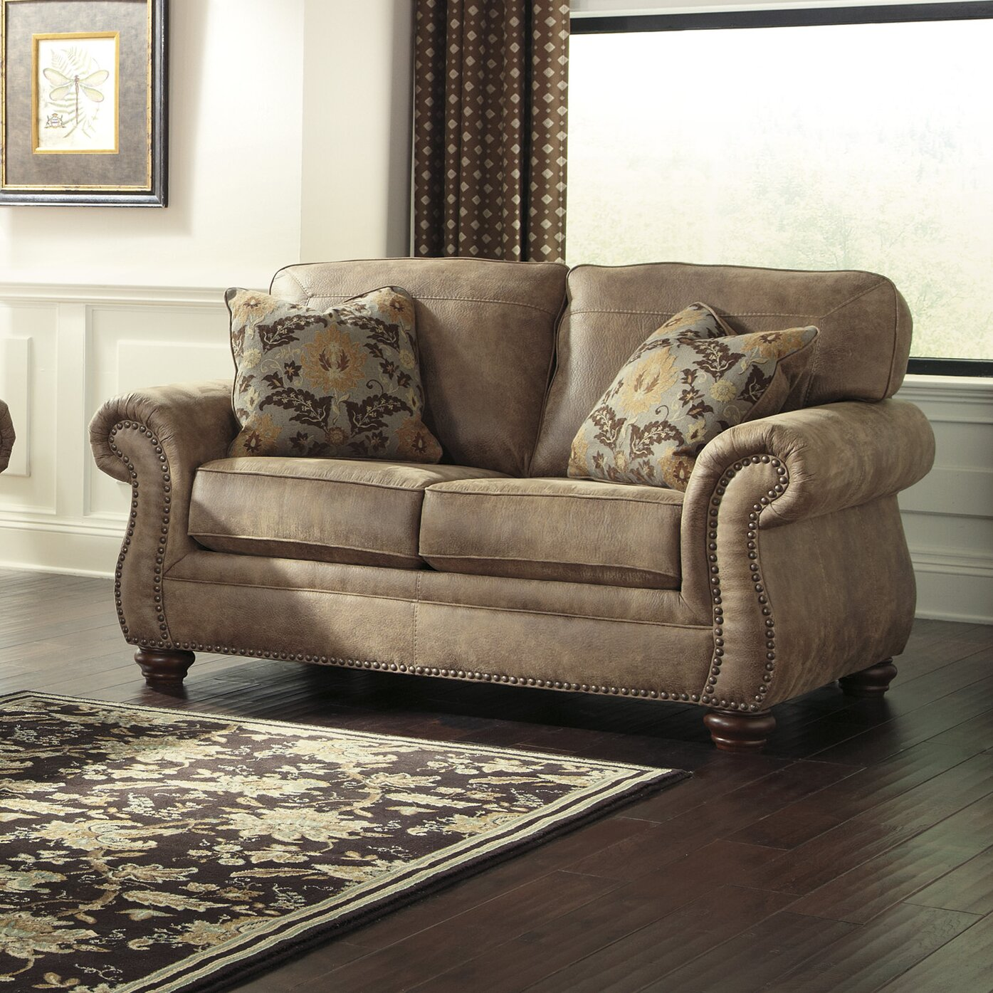 Ashley Signature Collection: Signature Design By Ashley Bessemer Living Room Collection