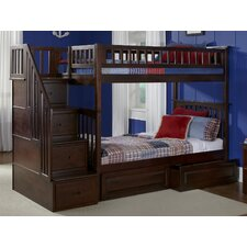 Henry Twin Bunk Bed with Storage by Viv + Rae