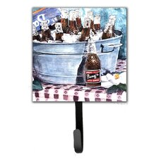 Barq's and Old Washtub Leash Holder and Wall Hook by Caroline's Treasures
