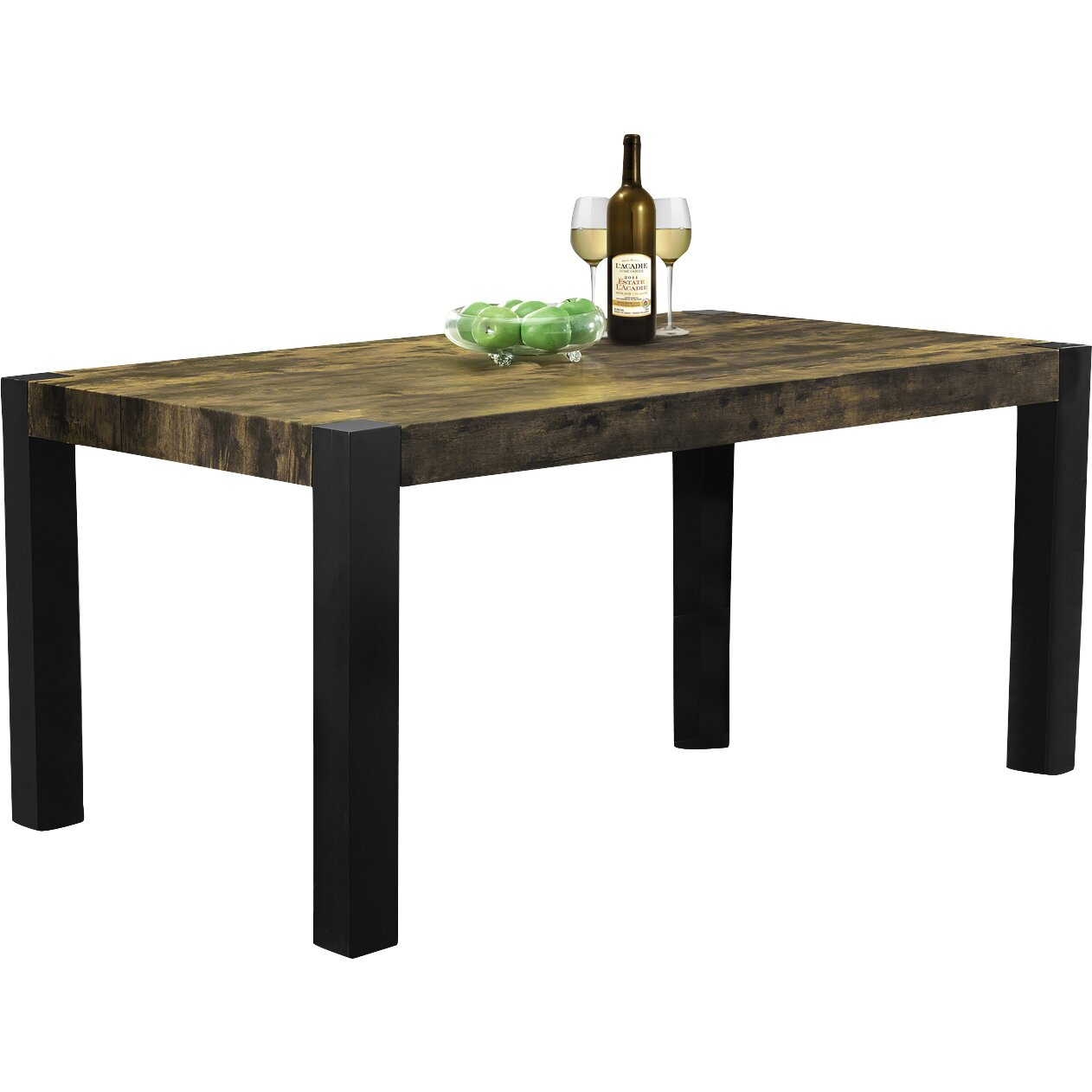 Monarch specialties inc dining table reviews for Table 85 restaurant