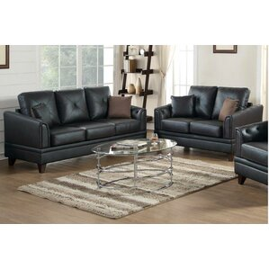 Shop 423 Leather Living Room Sets Wayfair