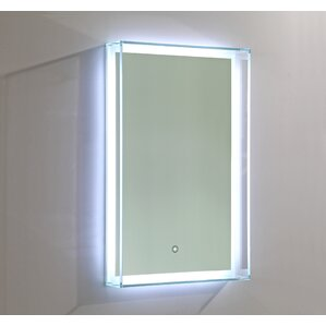 mirrors with lights you'll love | wayfair