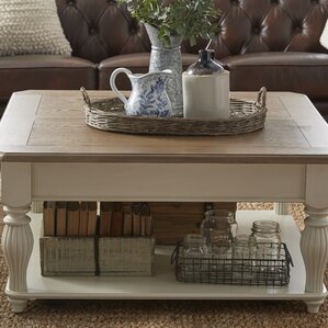 french country coffee tables you'll love | wayfair