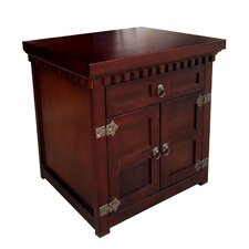 Rolfes 1 Drawer Nightstand by Darby Home Co