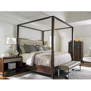 Macarthur Park Canopy Bed Customizable Bedroom Set