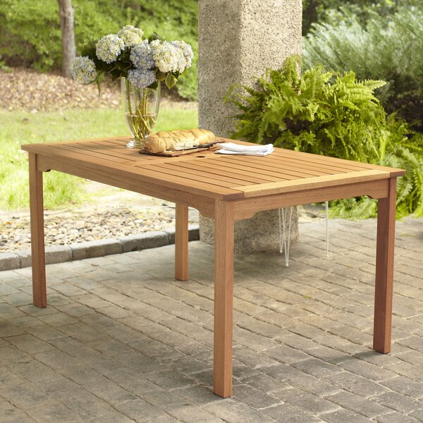 Elsmere Rectangular Dining Table by Beachcrest Home