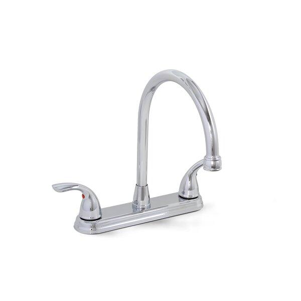 Bayview Double Handle Kitchen Faucet by Premier Faucet
