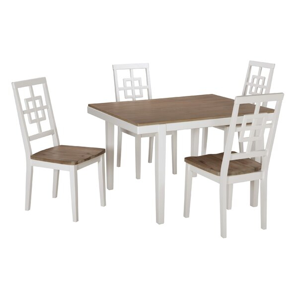 Nicol 5 Piece Dining Set by Beachcrest Home Beachcrest Home