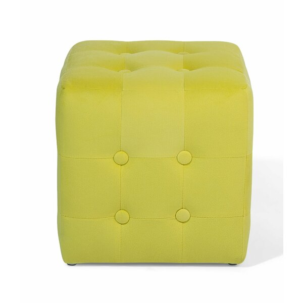 Hulse Tufted Pouf by Ebern Designs