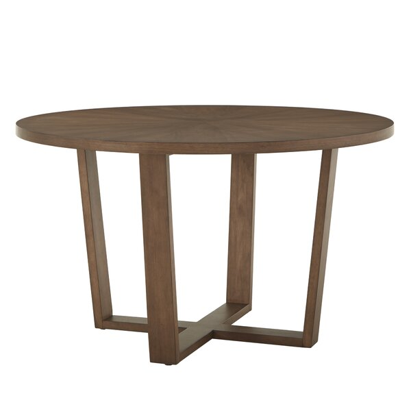 Carolina Solid Wood Dining Table by Modern Rustic Interiors