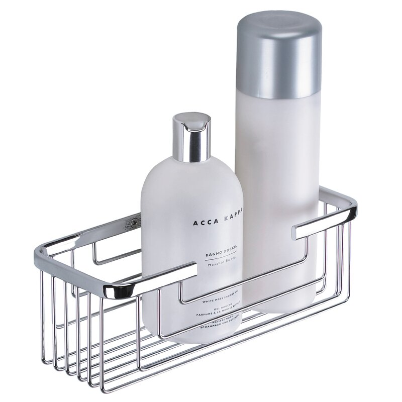 Gedy Metal Wall Mounted Shower Caddy & Reviews | Wayfair.co.uk
