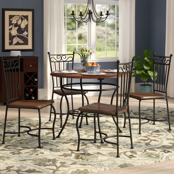 Nelida 5 Piece Dining Set By Astoria Grand #1