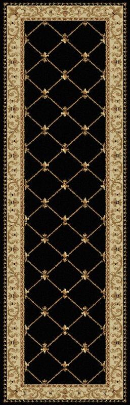 Astoria Grand Clarence Black Gold Area Rug Amp Reviews