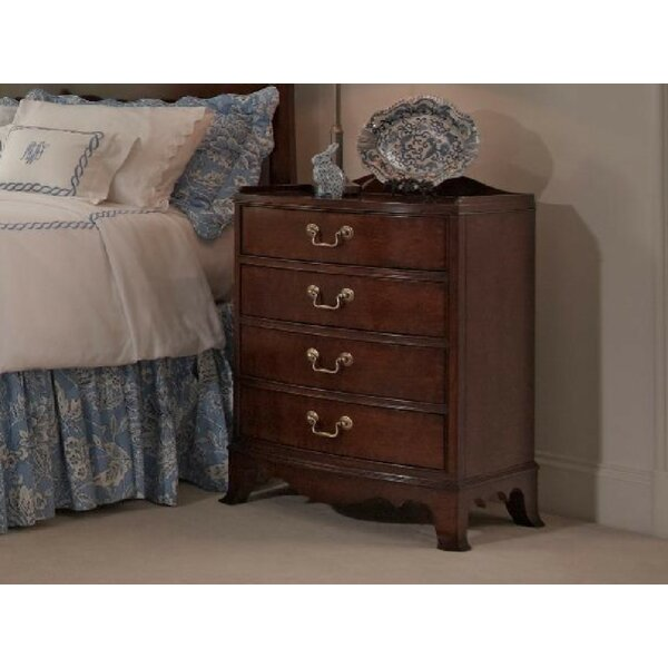 Richmond 4 Drawer Nightstand by Fine Furniture Design