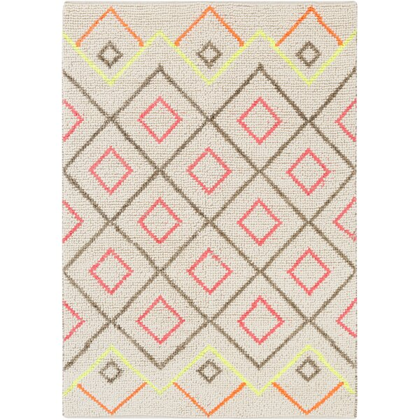 Gainesville Hand-Woven Gray Area Rug by George Oliver