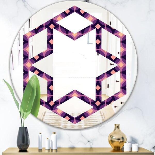 Hexagon Star Eclectic Wall Mirror