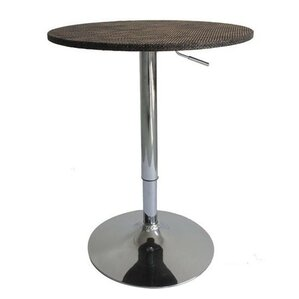 Adjustable Height Pub Table by HomCom