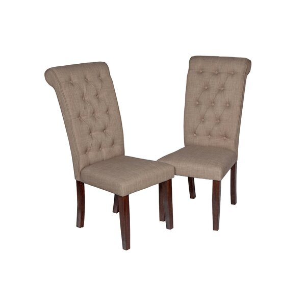 Upholstered Dining Chair (Set of 2) by TTP Furnish