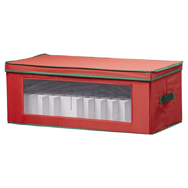 36 Piece Holiday Ornament Chest by The Holiday Aisle