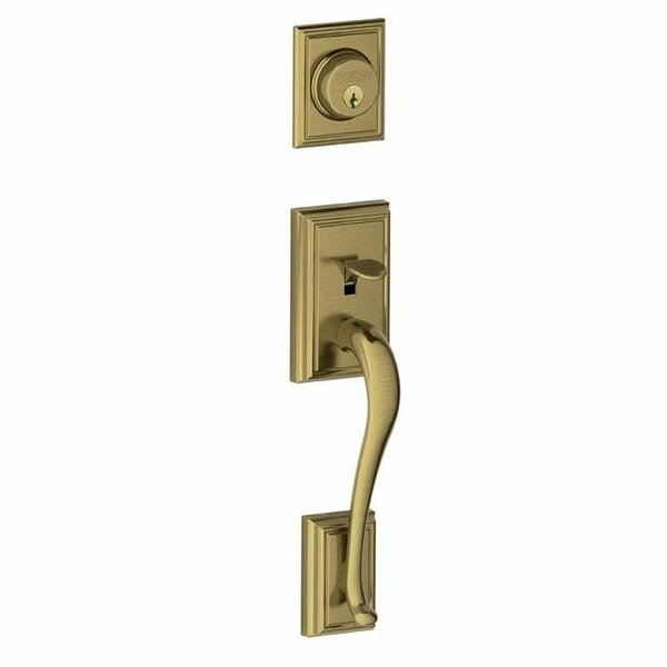 F Series Addison Dummy Handleset, Exterior Handle Only by Schlage