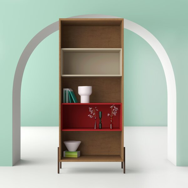 Review Alviso Standard Bookcase