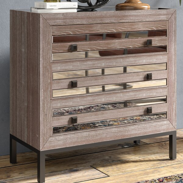 Lorri 3 Drawer Accent Chest by Trent Austin Design