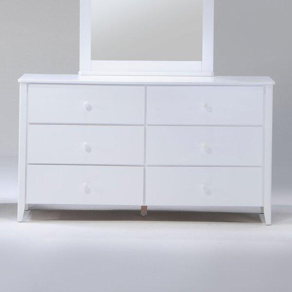 Brancaster 6 Drawer Double Dresser by Winston Porter