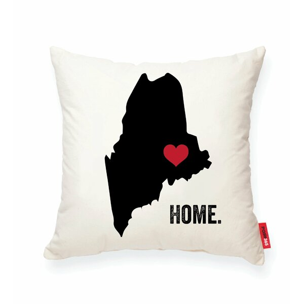 Pettry Maine Cotton Throw Pillow by Wrought Studio