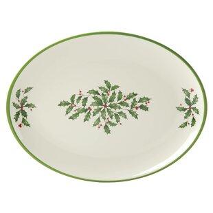 Holiday Melamine Oval Platter  sc 1 st  Wayfair & Lenox Holiday Melamine | Wayfair