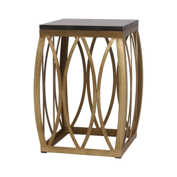 Vault Granite Stool by Emissary Home and Garden