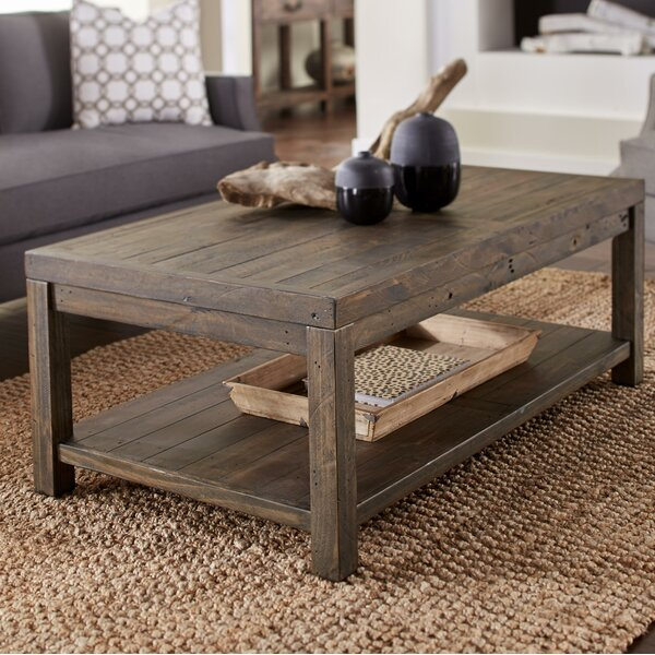 Omara Wooden Coffee Table by Williston Forge