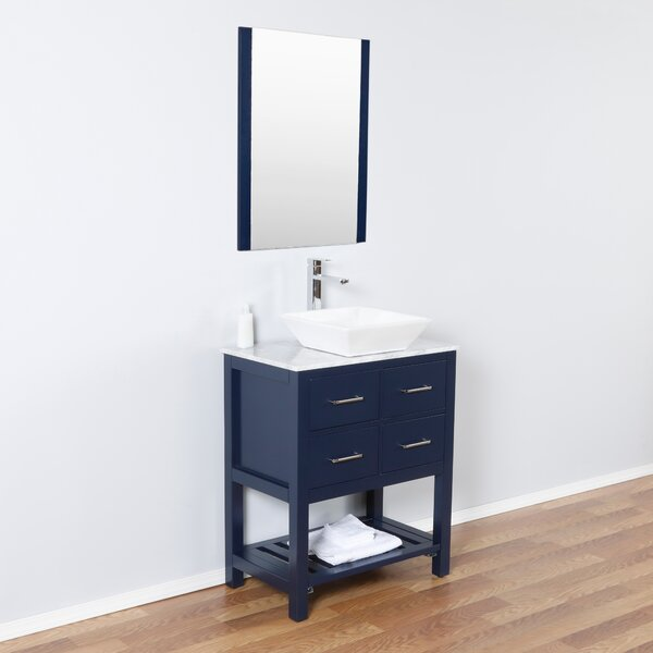 Bui 30 Single Bathroom Vanity Set with Mirror